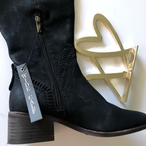Vince Camuto Shoes - Vince Camuto widecalf over the knee boots black